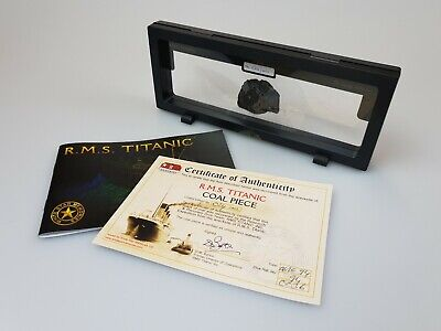 Genuine/Original RMS 'Titanic - Legacy Collection' Coal • 149.99£