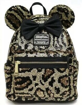 New Disney Parks Animal Kingdom Loungefly Cheetah Leopard Print Mini Backpack ⭐️ • 94.95£