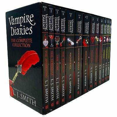 £42.80 • Buy Vampire Diaries The Complete Collection Books 1 - 13 Box Set By L. J. Smith