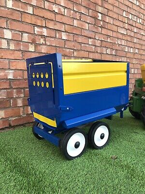 Silage Trailer (childrens) Fits On Petal Tractor • 220£