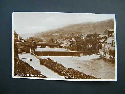 1949 Cole & Co. Postcard Of Castle Inn Bridge And Weir, Treforest, Pontypridd. • 6.99£