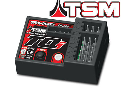 $ CDN50.44 • Buy Traxxas 6533 - Receiver, Micro, TQi 2.4GHz With Telemetry & TSM (5-channel)
