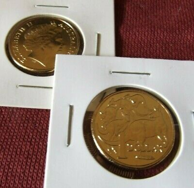 AU14.75 • Buy 2011 UNC Or BETTER $ 1 DOLLAR Coin From Mint Bag MOB Of ROOS In 2x2 Holder