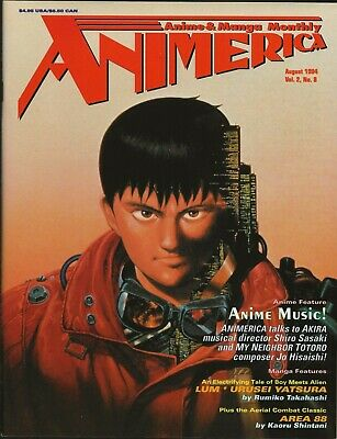 $ CDN31.57 • Buy Animerica Vol 2, #8, Aug 1994, VIZ) Akira   **NEW**  **UNREAD**