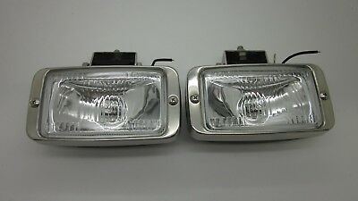 AU75 • Buy FORD XF FALCON S PACK - FAIRMONT GHIA ESP RECTANGLE FOG LIGHT NEW REPRO Pair