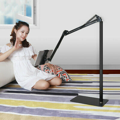 AU49 • Buy Hands Free Floor Stand Adjustable Bed Clip Holder For Tablet IPad IPhone Switch