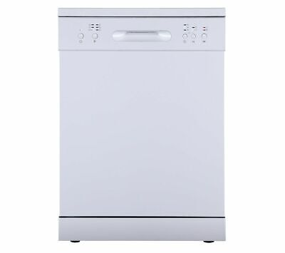 View Details ESSENTIALS CUE CDW60W20 Full-size Dishwasher - White - Currys • 209.99£