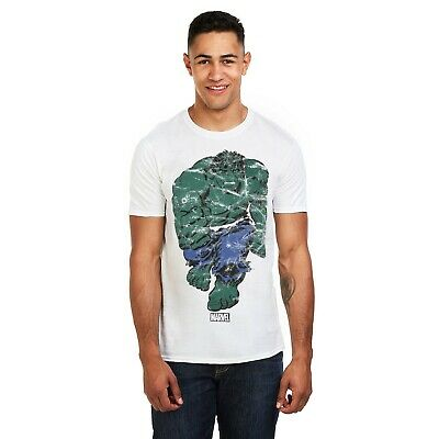 Marvel Mens - The Incredible - T-shirt - White  • 12.99£
