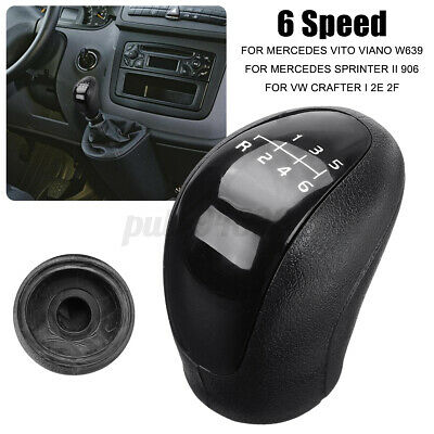 AU15.13 • Buy 6 Speed Gear Stick Shift Shifter Knob For Mercedes Sprinter II For VW Crafter AU