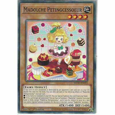 MP20-EN013 Madolche Petingcessoeur   1st Edition Common YuGiOh Trading Card Game • 0.99£