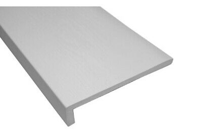 WHITE UPVC 18mm FASCIA/9mm COVERBOARD/HOLLOW SOFFIT/FLAT SOFFIT. 5m LENGTHS • 12.50£