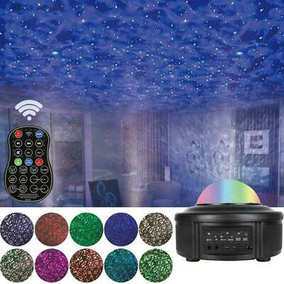 Bluetooth Music Projector Night Light LED Stage Starry For Party Lamp Sky S2W6 • 20.98£