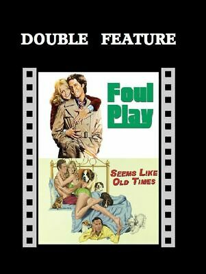 Foul Play / Seems Like Old Times ( Goldie Hawn Chevy Chase ) For R2 DVD Sealed • 10.99£