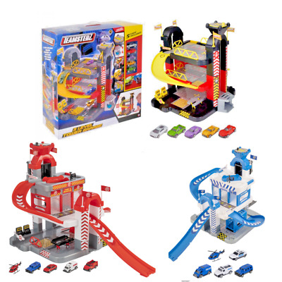 £46.98 • Buy Kids 3 Level City Car Parking Toy Garage Play Set Toy Cars Vehicles Toy Set NEW
