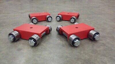 $220 • Buy MADE IN USA Machine Moving Skate Dolly Roller Set (4)