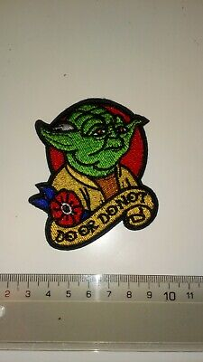 £2 • Buy Yoda Do Or Do Not Embroidered Iron On Patch. Star Wars Sci Fi Fantasy