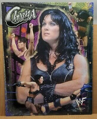 $ CDN50.75 • Buy Vintage 2000 WWF World Wrestling Federation Chyna DX Folder D-Generation Signed