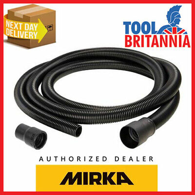 Mirka Dust Extractor Abranet Deros & Ceros Anti-Static Extraction Hose 27mm X 4m • 37.99£