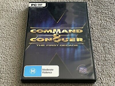 AU39.99 • Buy Command & Conquer: The First Decade (PC: Windows, 2006)