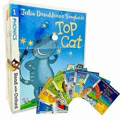 Julia Donaldson's Songbirds Read With Oxford Phonics 36 Books Collection Set  • 37.99£