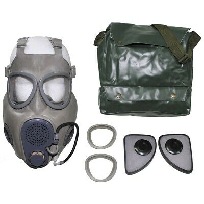 £14.95 • Buy GAS MASK M10M CZECH RESPIRATOR DRINKING TUBE GREY With BAG GAMER COD PREPPER