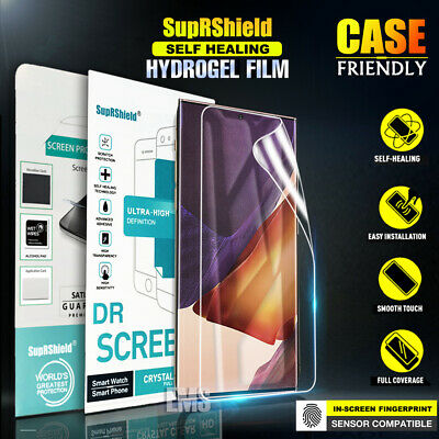 AU6.99 • Buy For Samsung Galaxy Note 20 Ultra Note 10 10+ 9 8 Hydrogel Full Screen Protector