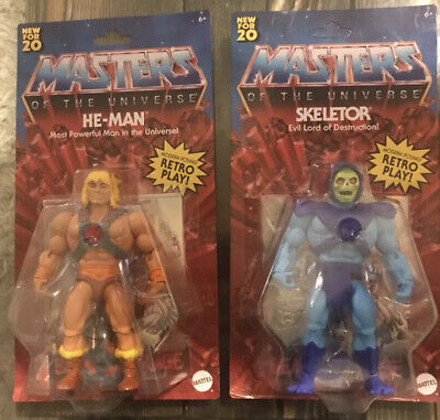 $51.25 • Buy Masters Of The Universe Origins Skeletor , He Man 5.5 Figure Retro 2020 Mattel