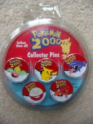 Pokemon 2000 Collector Pins / Badges Nintendo Sydney Olympics Set Of 5 Sealed • 8.99£