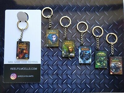 Mini PC Game Case Keyrings - Buy 3 And Get A Free Display Stand • 4.48£