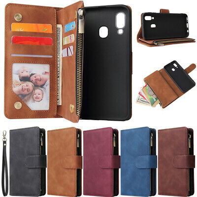 $ CDN10.99 • Buy Zipper Wallet Leather Flip Case Cover For Samsung A11 A21s A51 A71 S20 S10 S9 S8