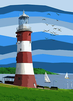 £15 • Buy Smeaton's Tower Lighthouse Plymouth Devon Limited Art Print By Sarah Jane Holt