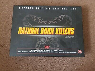 Special Edition DVD Box Set Natural Born Killers • 22.50£