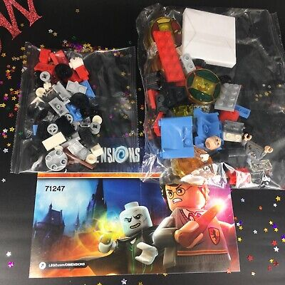 AU55 • Buy NEW LEGO Dimensions Harry Potter Lord Voldemort TEAM Pack 71247 Minifigure Tags