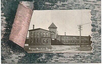 $12 • Buy Franklin Mayos Machine Shop Light And Power Station 1910 NH