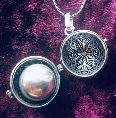 £11.99 • Buy Snowflake Harmony Bell - Pendant/Locket Necklace, Chime, Pregnancy/Baby Gift