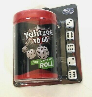AU18.10 • Buy Yahtzee To Go Travel Game By Hasbro Gaming 2+ Players Fun At Home