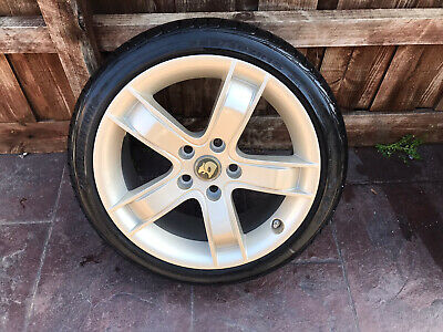 "AU650 • Buy Genuine Hsv Vx Clubsport R8 Maloo 18"" Spare Wheel Champagne New Bridgestone Tyre"