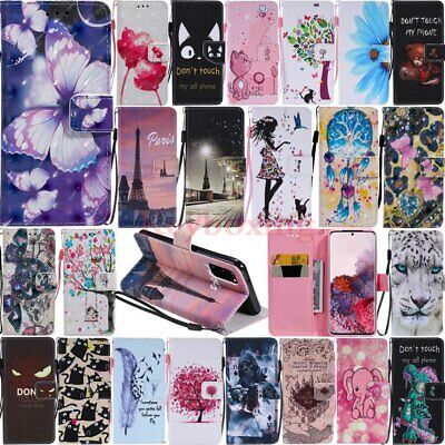 AU5.22 • Buy For Samsung Galaxy S20 S10 S9 S8 Plus Wallet Card Holder Flip Leather Case Cover