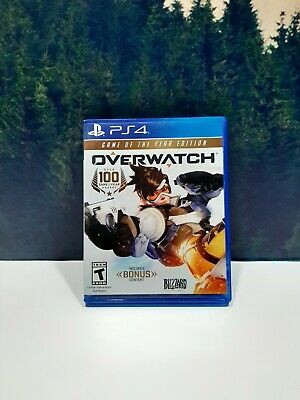 AU37.32 • Buy Overwatch: Game Of The Year Edition Sony PlayStation 4 PS4 Game + 10 Loot Boxes