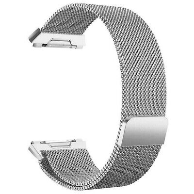 $ CDN10.99 • Buy For Fitbit Ionic Bands Large Replacement Magnetic Loop Strap Stainless Stee Q8C4
