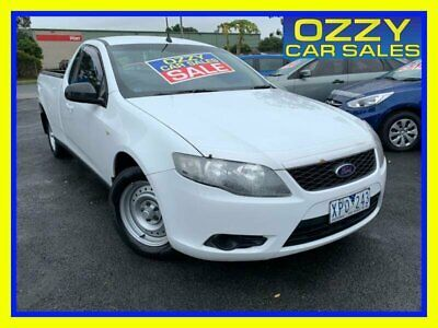 AU6750 • Buy 2009 Ford Falcon FG White Automatic 5sp A Utility