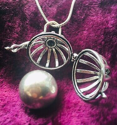 £12.99 • Buy Beautiful Harmony Bell - Pendant/Locket Necklace, Chime, Pregnancy, Baby Gift