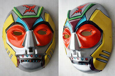 $ CDN37.95 • Buy Rare Vintage 80's Space Japanese Anime Robot Plastic Face Haloween Costume New