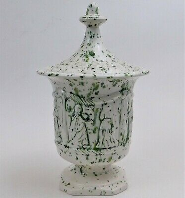 $ CDN43.72 • Buy Arnel's Pottery Ceramic Pedestal Compote Candy Dish Ancient Greek Style Green