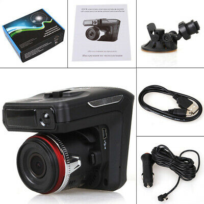 AU51.99 • Buy AU Car DVR Dash Cam 2in1 FHD 1080P Video Recorder Radar Speed Detector Camera