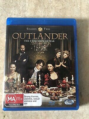 AU19.99 • Buy Outlander Season 2 On Blu Ray Region B Like New
