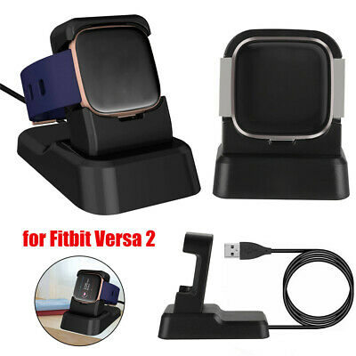 $ CDN14.90 • Buy USB Cable Dock Charger Holder Adapter Cradle For Fitbit Versa&Versa 2 Lite