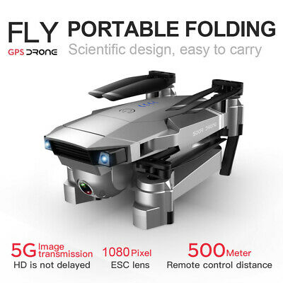 AU157.99 • Buy SG907 GPS Drone With 1080P HD Dual Camera WIFI FPV RC Quadcopter Foldable Drone