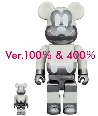 $1038.02 • Buy Be Rbrick Bearbrick Mickey Mouse Fragment