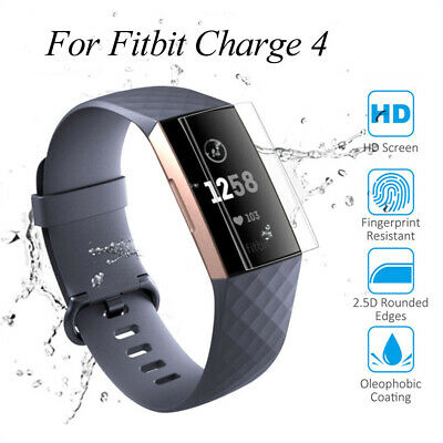 $ CDN7.47 • Buy Full Cover TPU Protective Film Screen Protector For Fitbit Charge 4 Smart Band